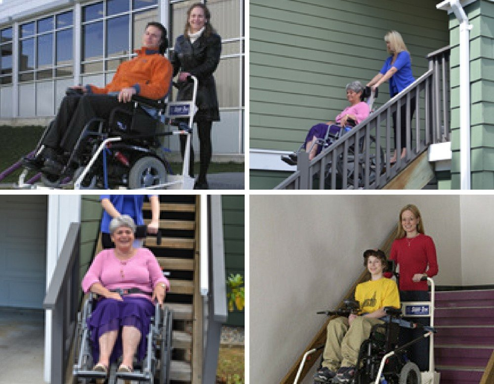 Wheelchair Lifts Collage